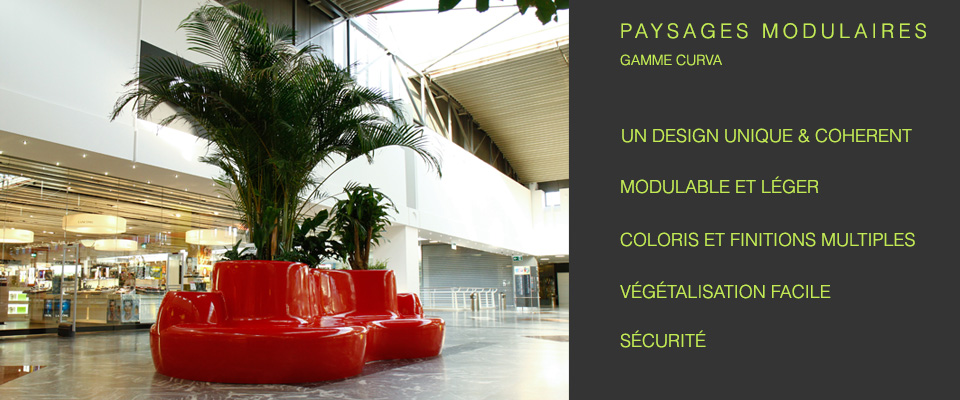 Paysages modulaires